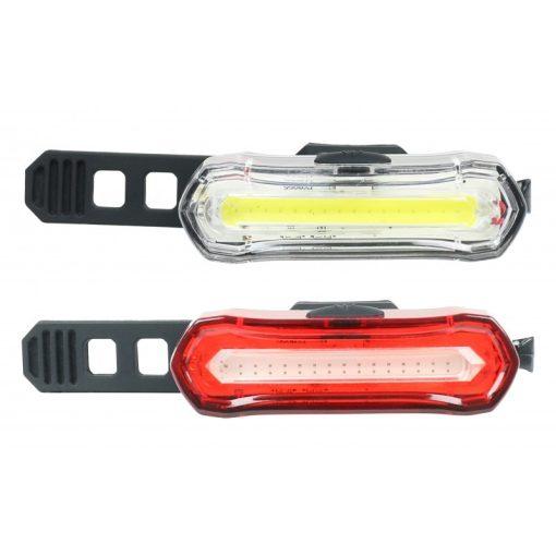 kerékpáros akkus tölthető világítás lámpa