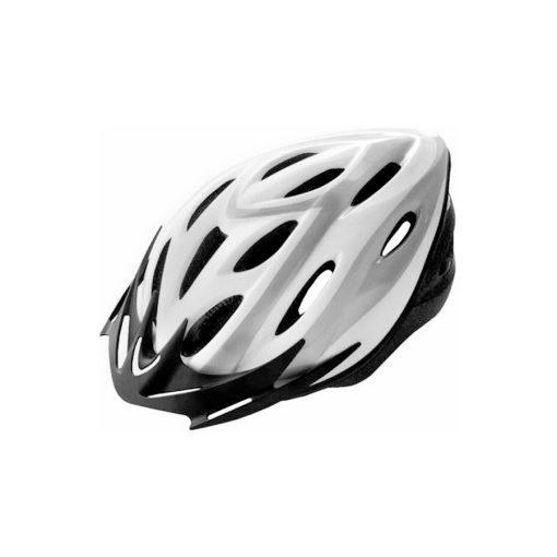 Kerékpáros bukósisak VISTA RIDER felnőtt fekete/fehér M 54-57