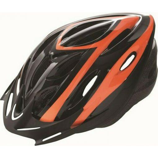 Kerékpáros bukósisak VISTA RIDER felnőtt narancssárga/fekete L 58-61