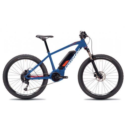Corratec E-Power X-Vert Rock 26 MTB mountain bike elektromos kerékpár, kék-narancs-fehér ebike ELFOGYOTT