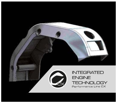 integralt engine technologia bicikili ebike corratec