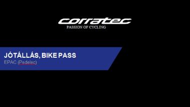 Corratec-ebike-jótállás-bikepass