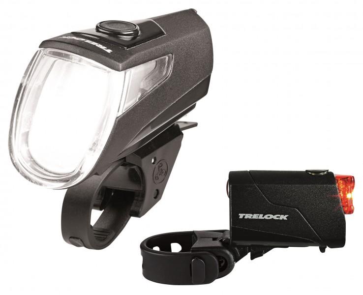 LED erős bicikli láma első hátsú szett