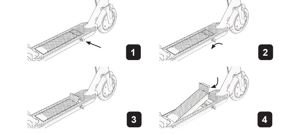 kivehető cserélhető akku elektromos roller