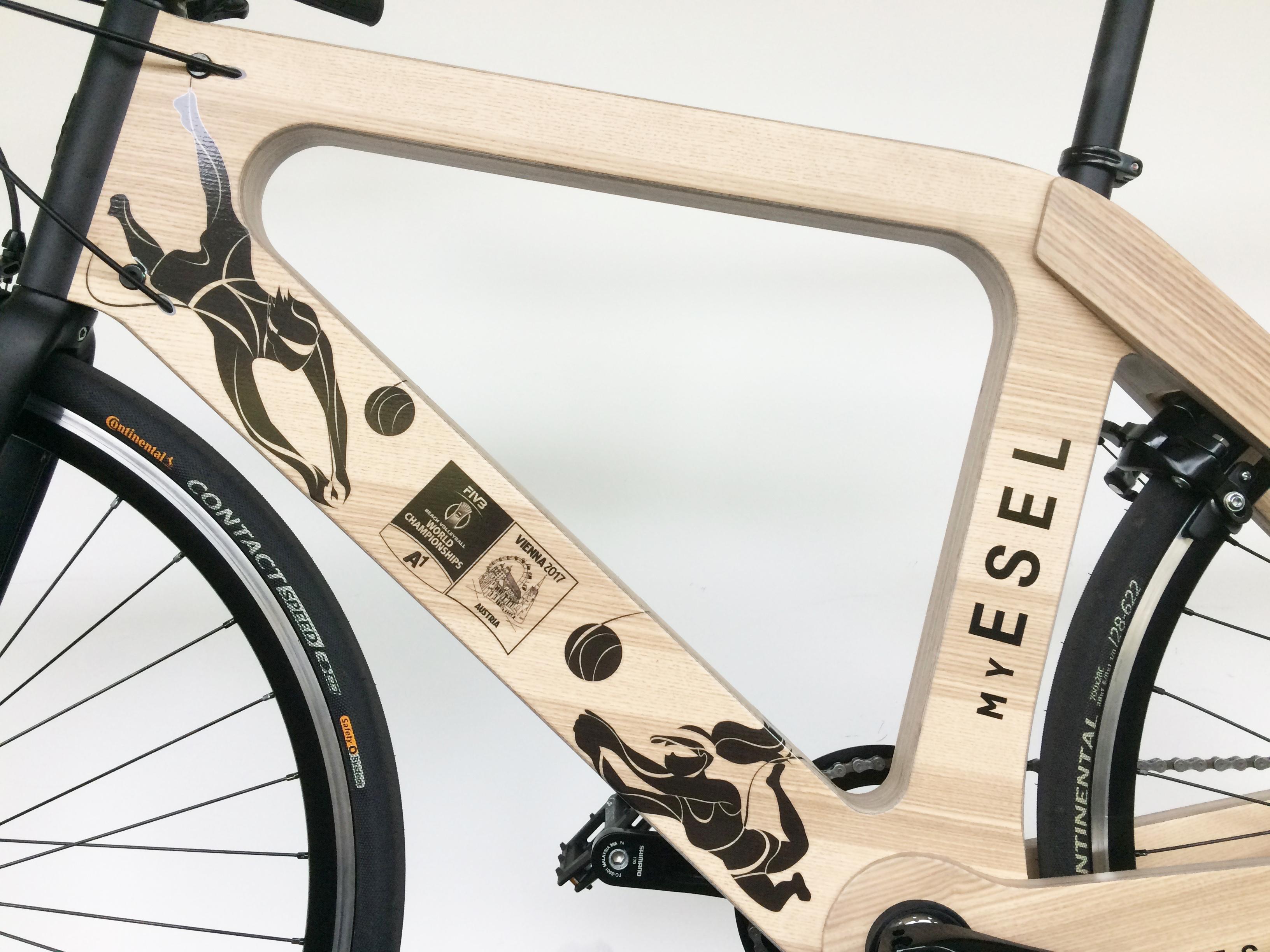 My Esel branding e-bike