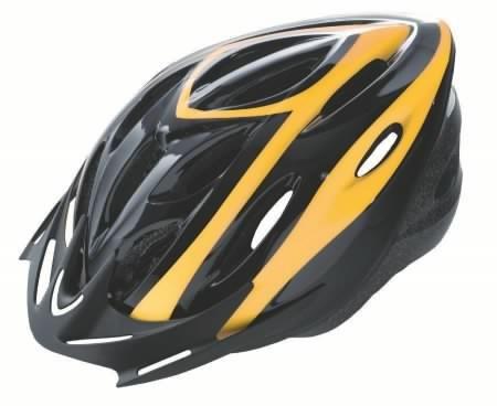 Kerékpáros bukósisak VISTA RIDER felnőtt sárga/fekete M 54-57