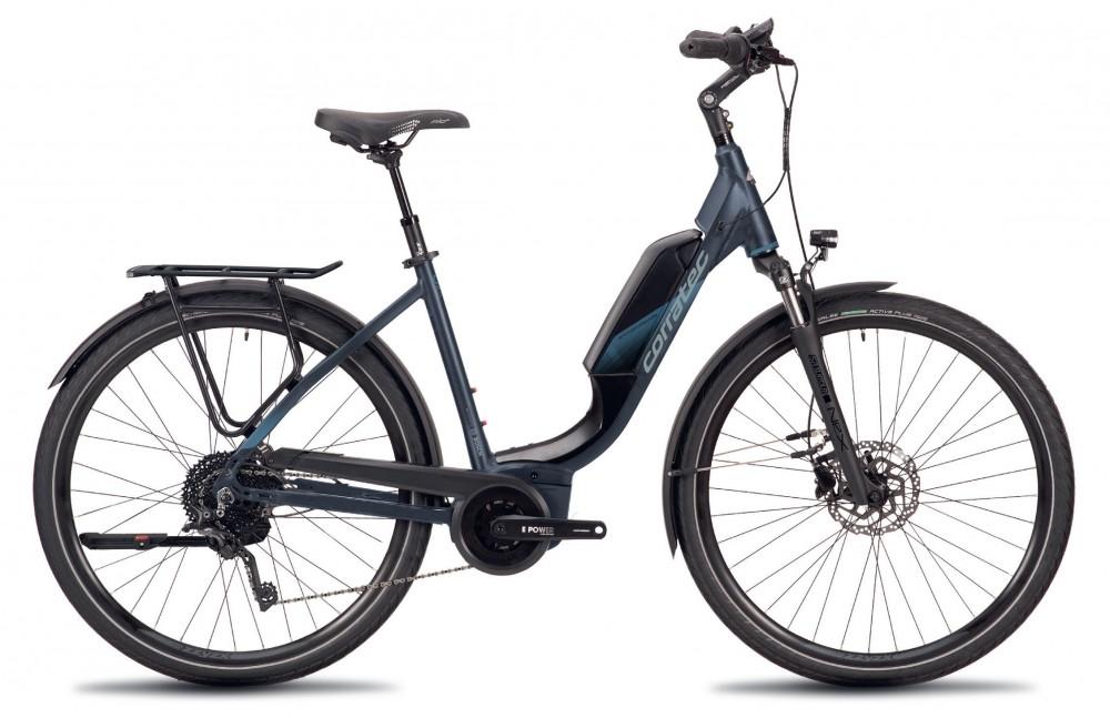 Női e-bike Corratec E-Power Urban 28 Fusion Tube AP5 12S Wave, vázméret: 45