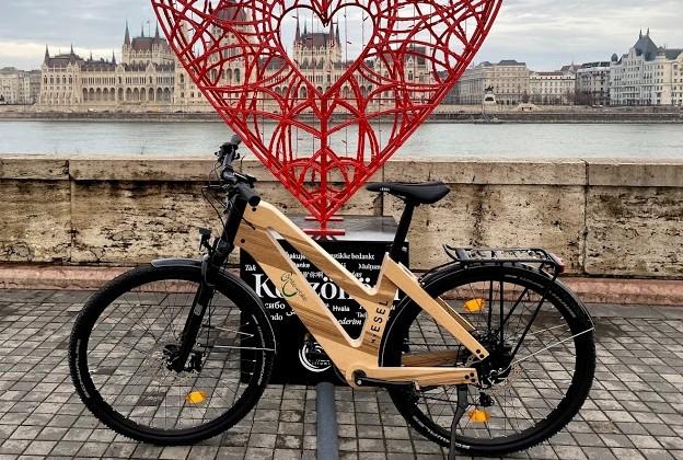 MY ESEL E-Cross Komfort Plus Elektromos Kerékpár Méret: M