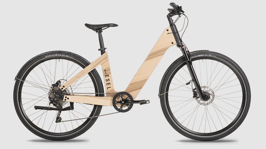 MY ESEL E-Elegance Pure M Elektromos Kerékpár Méret: M