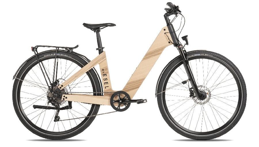 MY ESEL E-Elegance Pure S Elektromos Kerékpár Méret: S