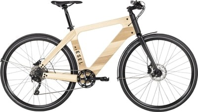 MY ESEL E-Tour Pure  Elektromos Kerékpár Méret: M,  Kőrisfából E-bike